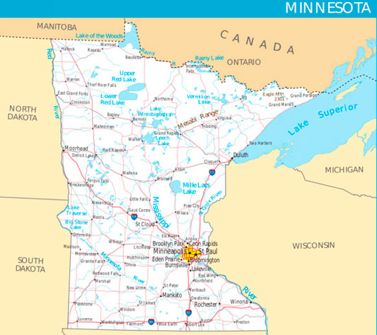 Map Of Lakes Minnesota Related Keywords Amp Suggestions